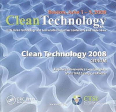 Clean Technology 2008: CD-ROM 9781420085068