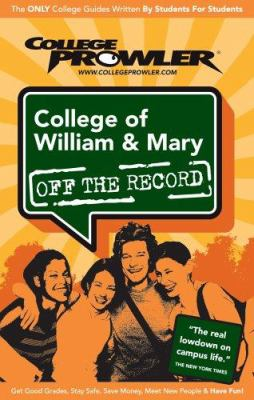 College of William & Mary 9781427400437