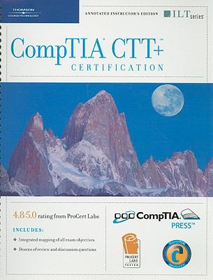 CompTIA CTT+ Certification [With CDROM] 9781423914341