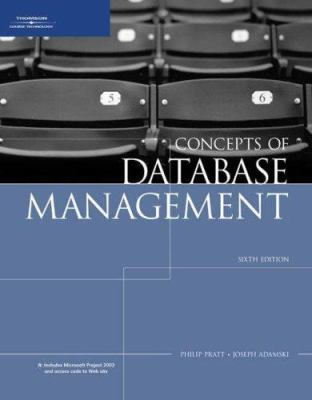 Concepts of Database Management 9781423901471