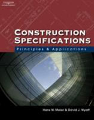 Construction Specifications: Principles and Applications [With CDROM] 9781428318618