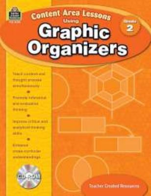 Content Area Lessons Using Graphic Organizers, Grade 2 [With CDROM] 9781420680928