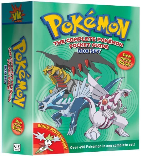 The Complete Pokemon Pocket Guide Box Set 9781421539188