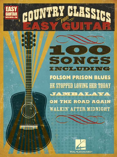 Country Classics for Easy Guitar 9781423436522