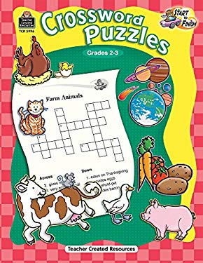 Crossword Puzzles, Grades 2-3 9781420659962