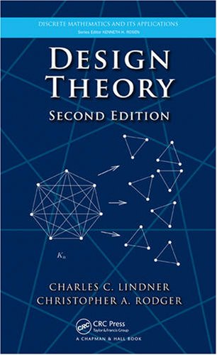 Design Theory 9781420082968