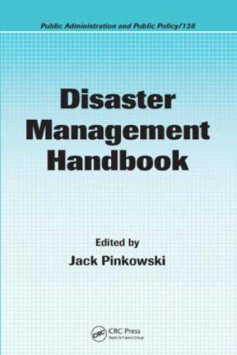 Disaster Management Handbook 9781420058628