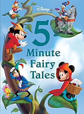 Disney 5-Minute Fairy Tales 9781423167662