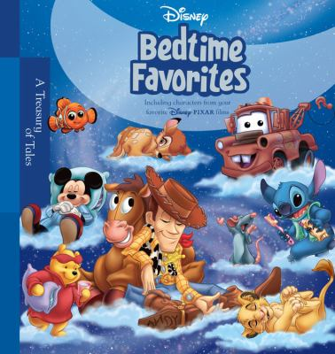 Disney Bedtime Favorites [With Stickers] 9781423104407