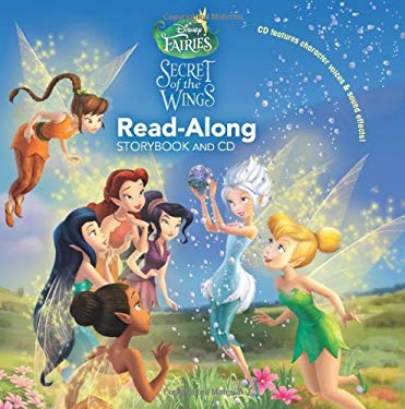 Disney Fairies: The Secret of the Wings Read-Along [With Paperback Book]