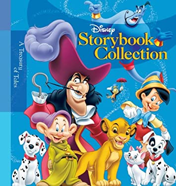 Disney Storybook Collection: A Treasury of Tales 9781423100737