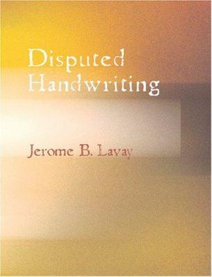 Disputed Handwriting 9781426475559