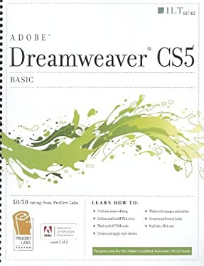 Dreamweaver CS5: Basic: ACA Edition 9781426020872