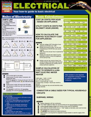 Electrical: Your How-To Guide to Basic Electrical 9781423208891