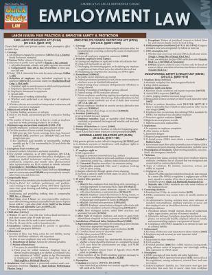 Employment Law 9781423219583