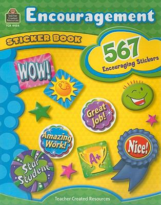 Encouragement Sticker Book 9781420644340