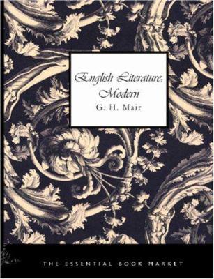 English Literature: Modern 9781426448867