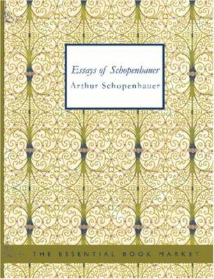 Essays of Schopenhauer 9781426457296