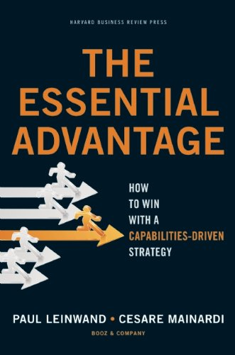 The Essential Advantage: How to Win with a Capabilities-Driven Strategy 9781422136515