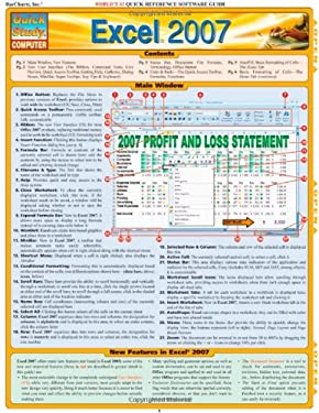 Excel 2007 Quick Reference Software Guide