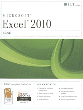 Excel 2010: Basic Student Manual [With CDROM]