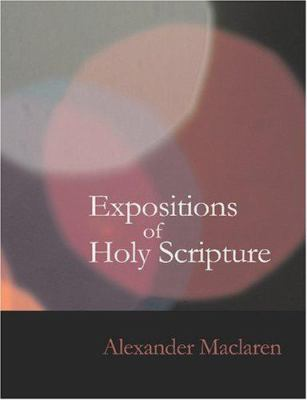 Expositions of Holy Scripture- Psalms 9781426452888