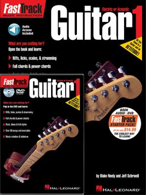FastTrack Guitar 1 [With CD (Audio) and DVD] 9781423490517