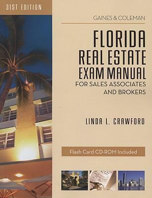 Florida Real Estate Exam Manual: For Sales Associates and Brokers [With CDROM] 9781427762153