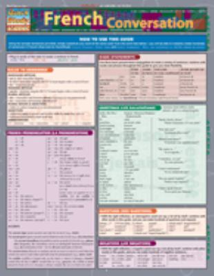 French Conversation Laminated Reference Chart 9781423201922