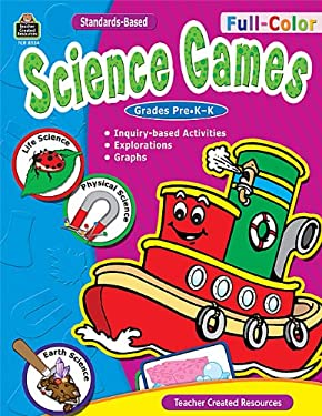 Full-Color Science Games, Prek-K 9781420683349
