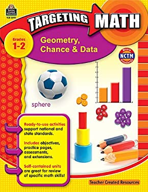 Geometry, Chance & Data, Grades 1-2 9781420689914