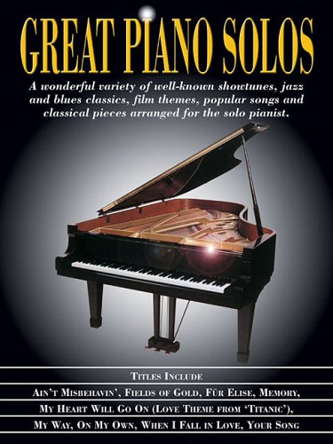 Great Piano Solos 9781423403043