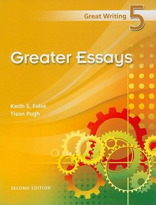 greater essays by keith folse Buy international student edition great writing 5, 2e 2 by tison pugh, keith folse (isbn: 9781424071159) and essays each book contains a.