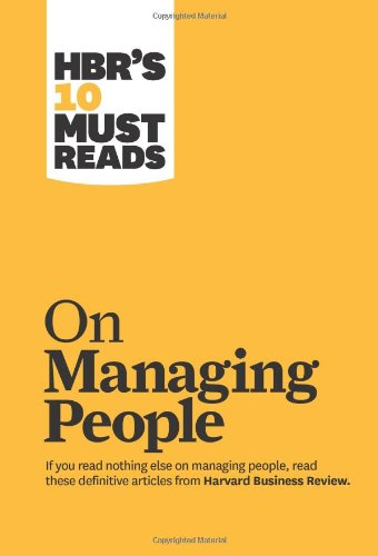HBR's 10 Must Reads on Managing People 9781422158012
