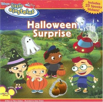 Halloween Surprise [With 25 Spooky Stickers] 9781423102083