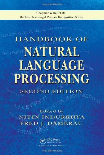 Handbook of Natural Language Processing 9781420085921