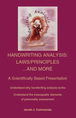 Handwriting Analysis: Laws/Principles... and More