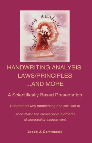 Handwriting Analysis: Laws/Principles...and More 9781425128753