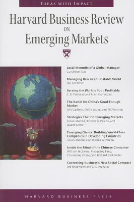 Harvard Business Review on Emerging Markets 9781422126493