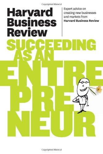 Harvard Business Review on Succeeding as an Entrepreneur 9781422172247