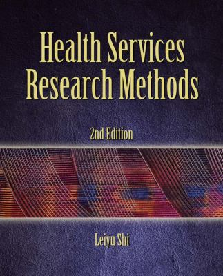 Health Services Research Methods 9781428352292