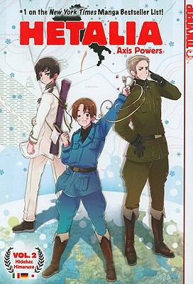 Hetalia Axis Powers, Volume 2 9781427818874