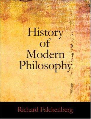 History of Modern Philosophy 9781426446498