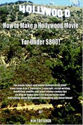"""For movie lovers and movie makers of all kind  Everything about Hollywood filmmaking you never knew  Many beginning filmmakers will attempt to make a short film, or several short films, without ever making a feature length film. In my book, I give detailed information from step A to Z in achieving the desired results. The Chapters: """"Becoming a Filmmaker and Assembling a Team,"""" """"Writing a Script,"""" """"Preparing Contracts,"""" """"Locations,"""" """"Finding Cast and Crew"""" and """"Marketing Your Film"""" etc. You gain an inside look on how Hollywood really makes movies, the good and the bad  How to make a Hollywood film without little or no resources is what my book is all about"""