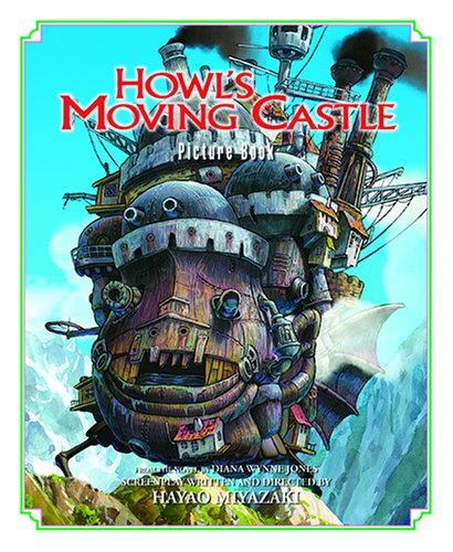 Howl's Moving Castle Picture Book 9781421500904