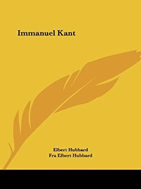 Immanuel Kant 9781425342906