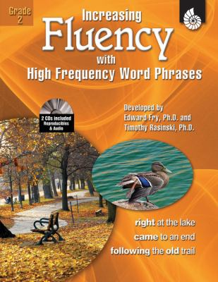 Increasing Fluency with High Frequency Word Phrases, Grade 2 [With 2 CDROMs] 9781425802776
