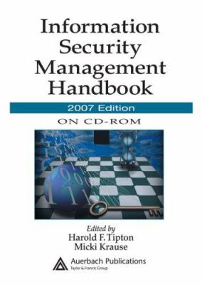 Information Security Management Handbook 9781420060454