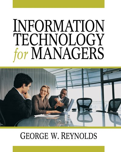 Information Technology for Managers 9781423901693