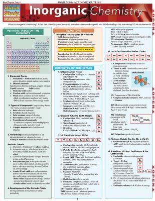 Inorganic Chemistry 9781423214311